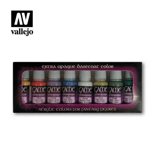 game color extraopaque 72294 vallejo basic set