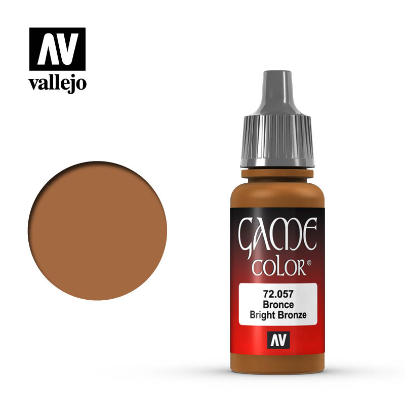 game color vallejo bright bronze 72057