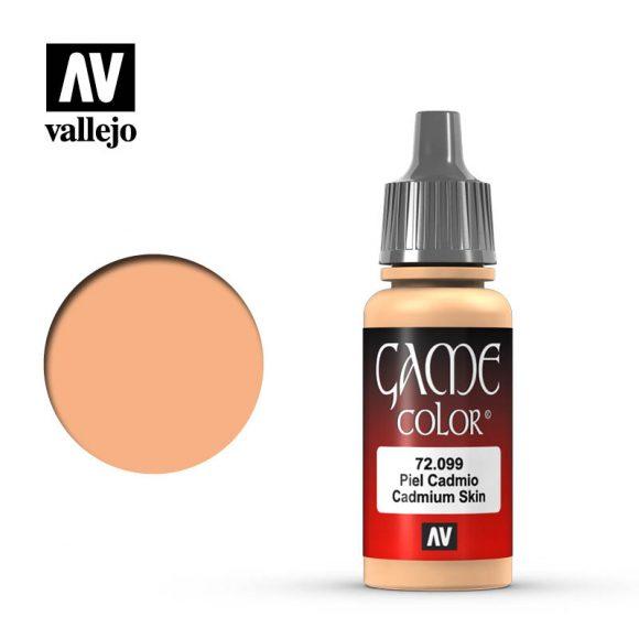 game color vallejo cadmium skin 72099