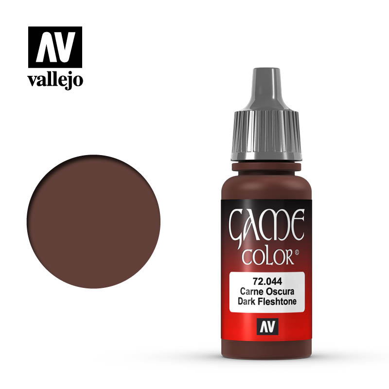 game color vallejo dark flesh tone 72044