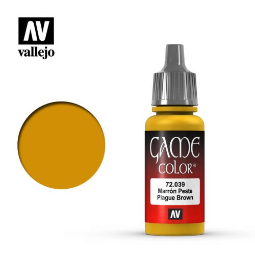 game color vallejo plague brown 72039