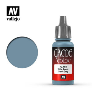 game color vallejo steel grey 72102