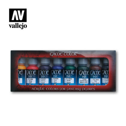 game inks 72296 vallejo basic set