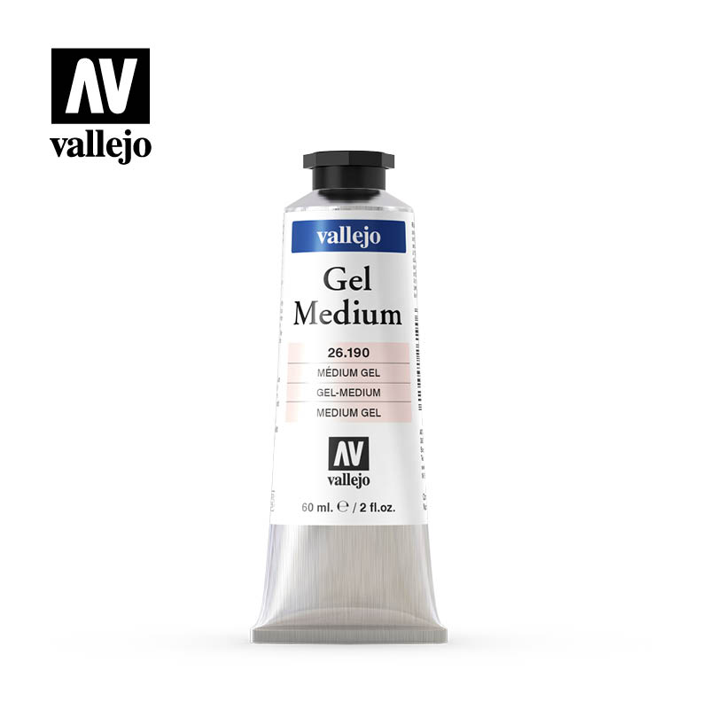 gel medium vallejo 26190 60ml