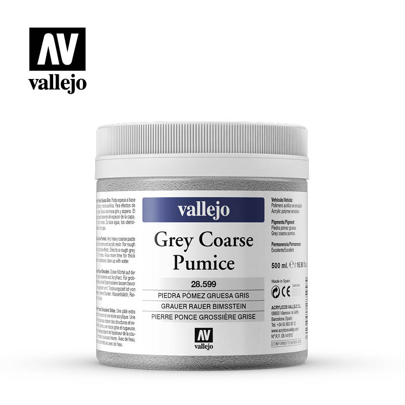 grey coarse pumice vallejo 28599 500ml