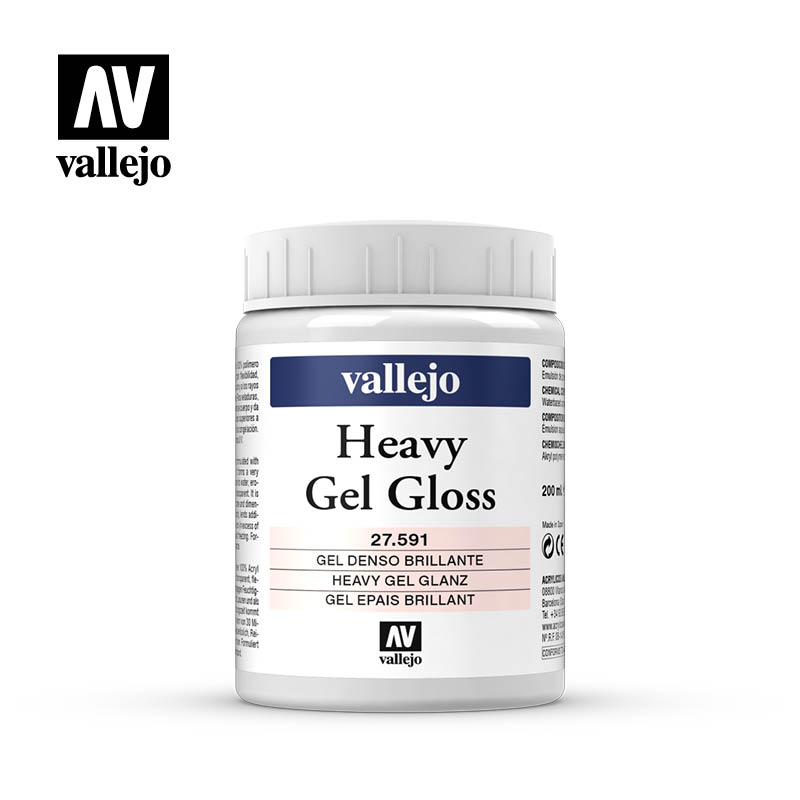 heavy gel gloss vallejo 27591 200ml
