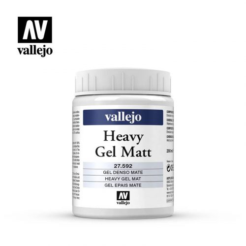 heavy gel matt vallejo 27592 200ml