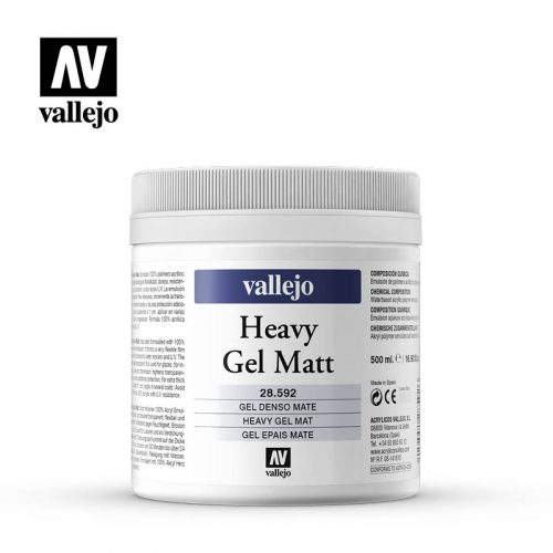 heavy gel matt vallejo 28592 500ml