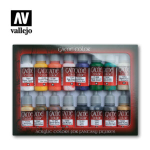 introduction 72299 vallejo game color basic set
