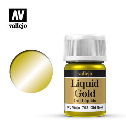 liquid old gold vallejo 70792
