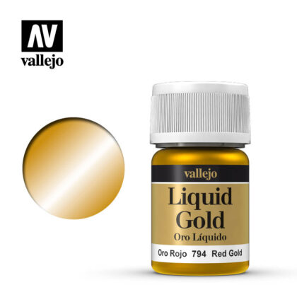 liquid red gold vallejo 70794