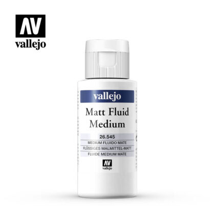 matt fluid medium vallejo 26545 60ml