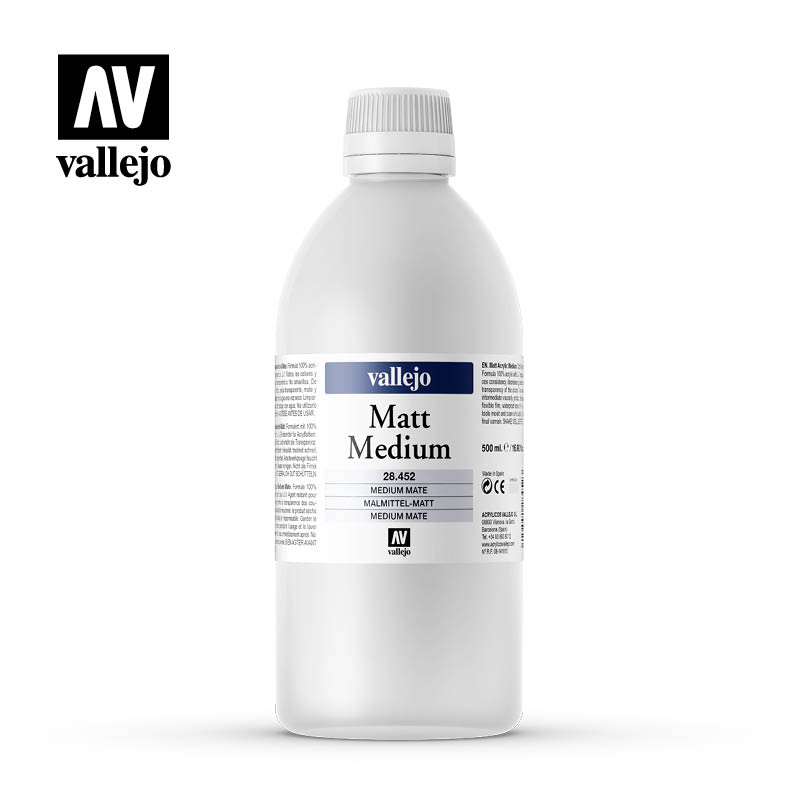 matt medium vallejo 28452 500ml