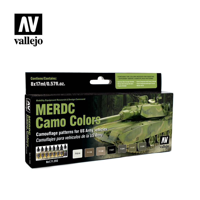 merdc camo colors vallejo afv 71202
