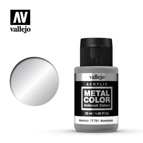 metal color vallejo aluminum 77701