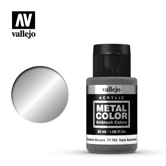 metal color vallejo dark aluminum 77703