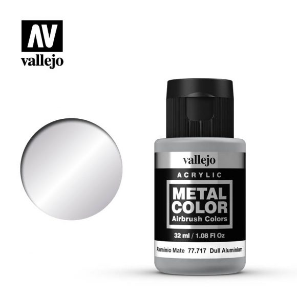 metal color vallejo dull aluminum 77717