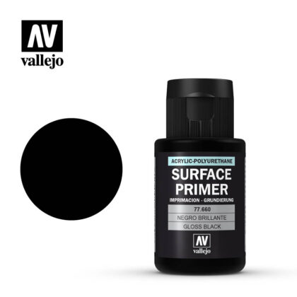 metal color vallejo gloss black primer 77680