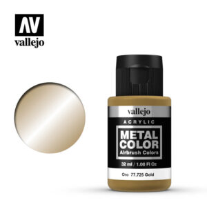 metal color vallejo gold 77725