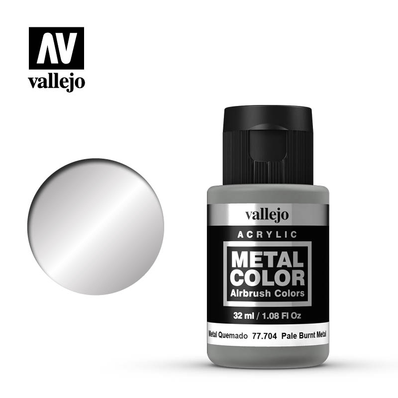 metal color vallejo pale burnt metal 77704