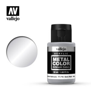 Metal Color Vallejo Semi Matt Aluminium 77716