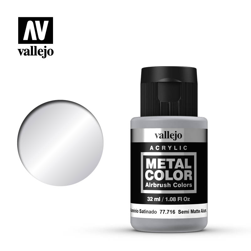 metal color vallejo semi matt aluminum 77716