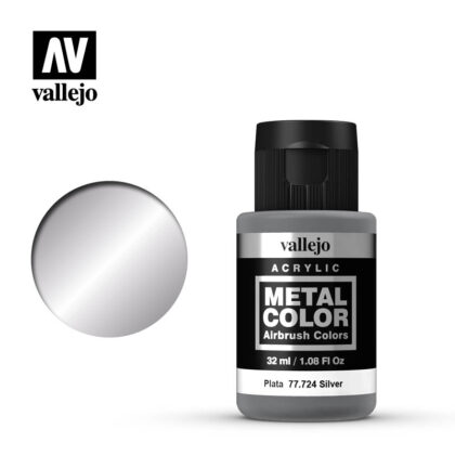 metal color vallejo silver 77724
