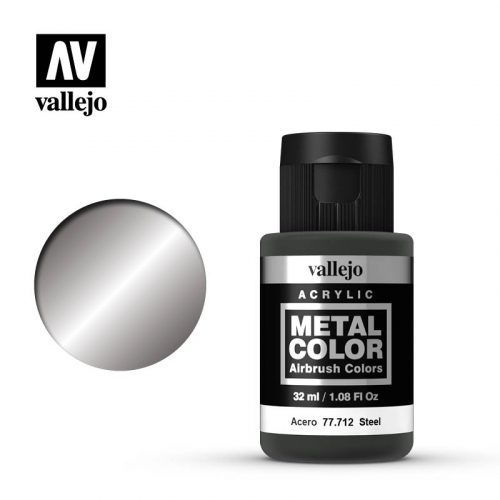 metal color vallejo steel 77712