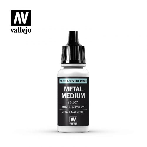 metal medium vallejo 70521 17ml