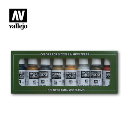 Metallic colors 70118 vallejo model color effects set