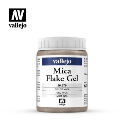 mica flake gel vallejo 26579 200ml