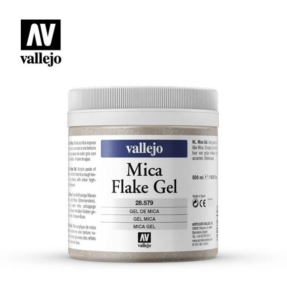 mica flake gel vallejo 28579 500ml