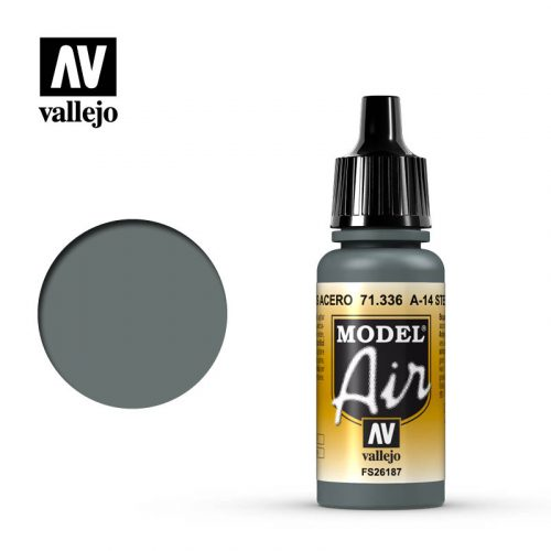model air vallejo a 14 steel grey 71336