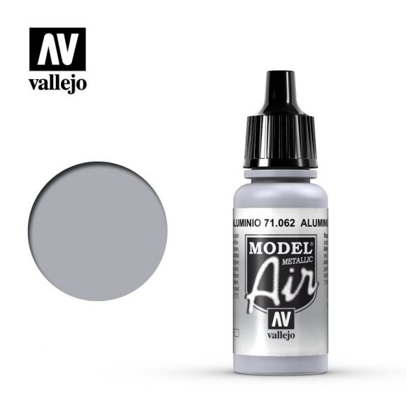 model air vallejo aluminum metallic 71062