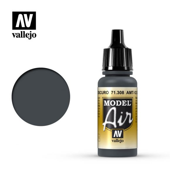 model air vallejo amt 12 dark grey 71308