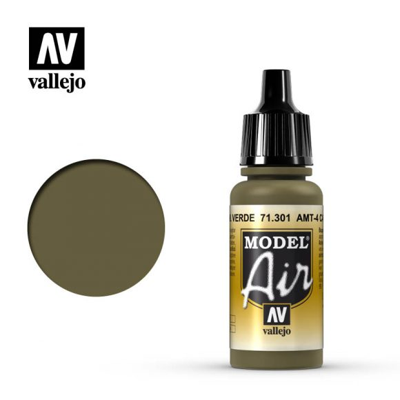 model air vallejo amt 4 camouflage green 71301
