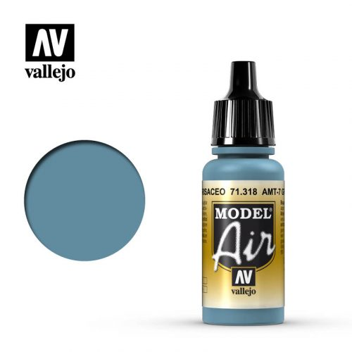 model air vallejo amt 7 greyish blue 71318