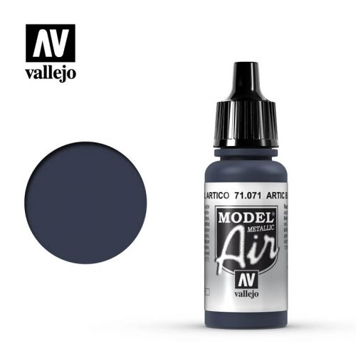 model air vallejo arctic blue metallic 71071