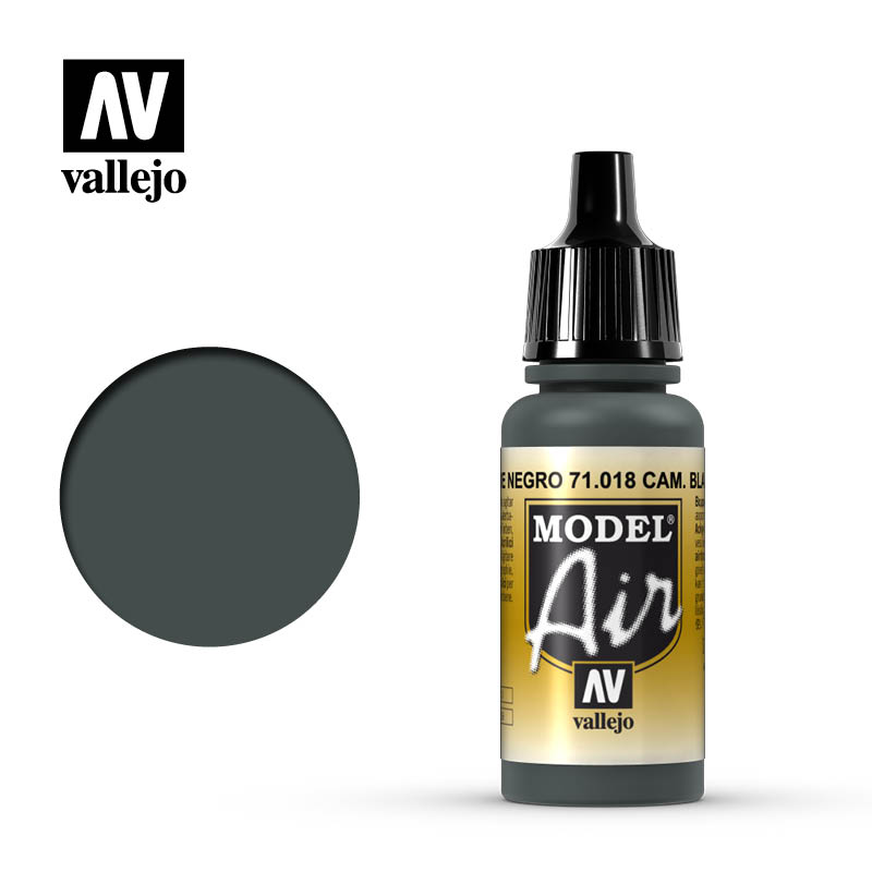 model air vallejo black green 71018