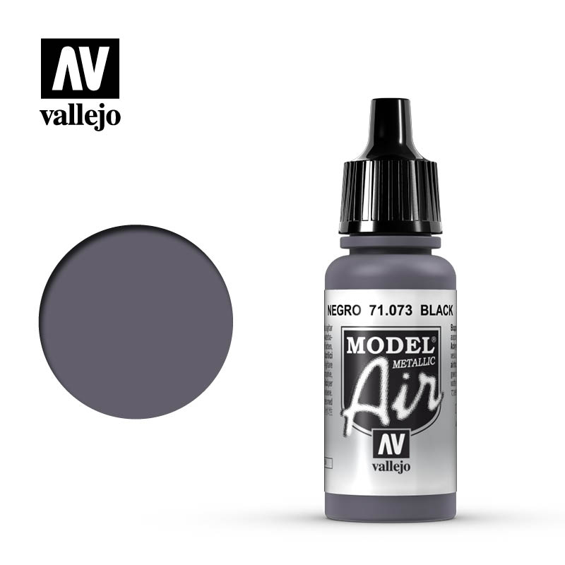 model air vallejo black metallic 71073