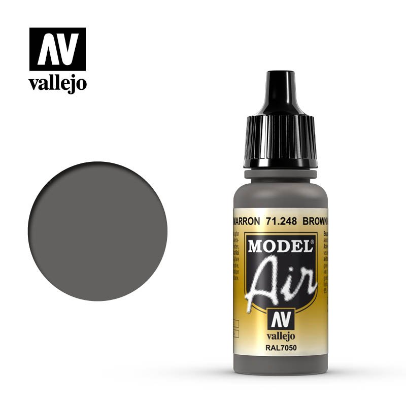 model air vallejo brown grey 71248