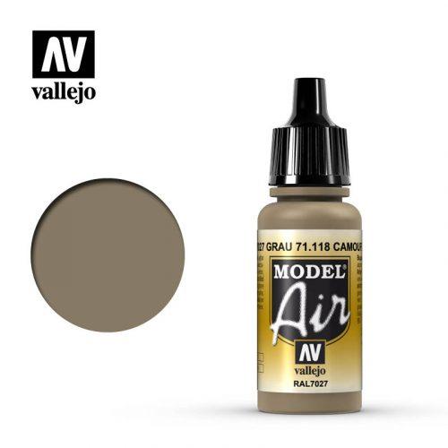 model air vallejo camouflage grey 71118