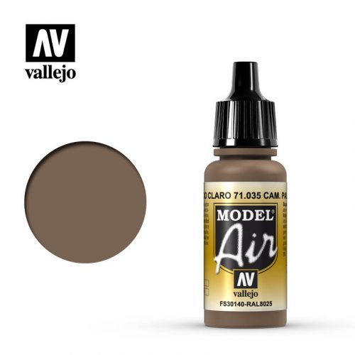model air vallejo camouflage pale brown 71035