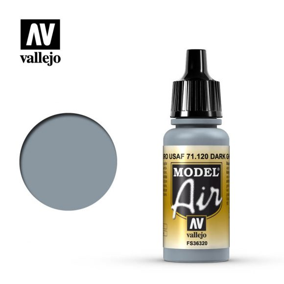 model air vallejo dark ghost gray 71120