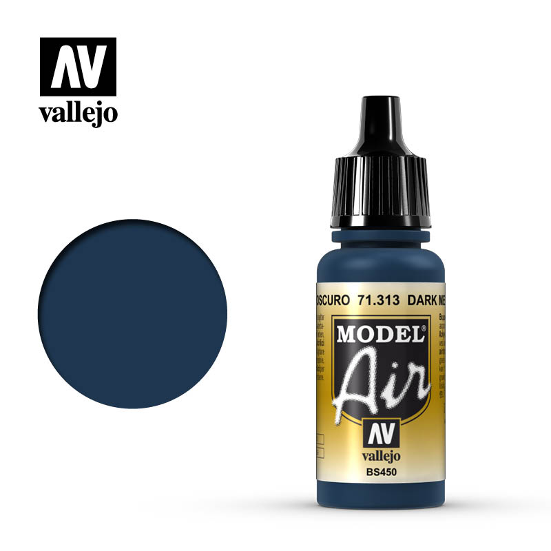 model air vallejo dark mediterranean blue 71313