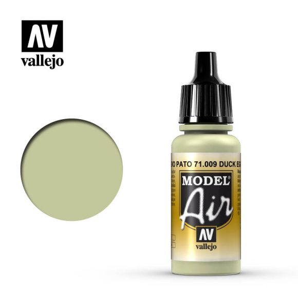 model air vallejo eau de nil duck egg green 71009