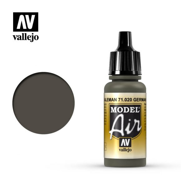 model air vallejo green brown 71020
