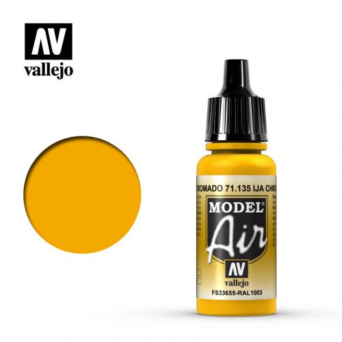 model air vallejo ija chrome yellow 71135