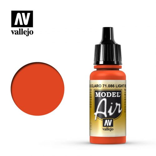 model air vallejo light red 71086