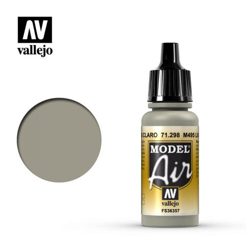 model air vallejo m495 light gray 71298